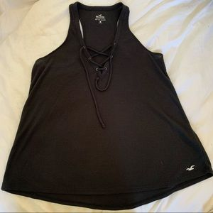 2 for $15 Hollister Must Have Front Tie Tank Top